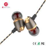 Novo produto fone de ouvido com fone de ouvido intra-auricular de metal de 3,5 mm