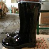 Carregadores de borracha da segurança de mineração de 100% com dedo do pé de aço, placa de aço