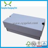 Kundenspezifischer gewölbter Papierkarton-Kasten, der für Geschenk-Schuh verpackt