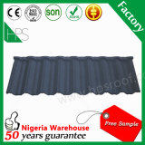 Строительный материал Гуанчжоу, алюминиевая плитка крыши, каменная Coated плитка крыши металла