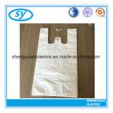 スーパーマーケット生物分解性HDPE/LDPEのTシャツの買物をするポリ袋