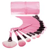 32PCS Pink Travelling Cosmetic Kits Brush (SM-M067)