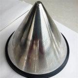 再使用可能なステンレス鋼の円錐形フィルター、貴重品箱メーカーのためのゴム製底が付いている円錐形のDripper