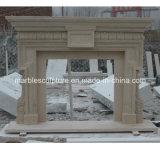Бежевый мраморный Surround камина (SY-MF030)