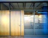 Cloisons de séparation en verre de bâti en aluminium pour le bureau