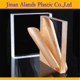 Folha de plexiglás de acrílico transparente fundido de 2mm 3mm 12mm * 2440mm
