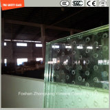 構築およびシャワーのための不規則な緩和された曲がるガラス