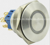 30mm CE/RoHS Stainless Steel Metal Illuminated Pushbutton Switch
