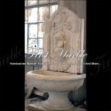 Fuente blanca Mf-622 de Carrara de la fuente de la piedra de la fuente de la fuente de mármol del granito