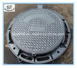 Tampa redonda do esgoto do ferro Ductile quente da venda C250