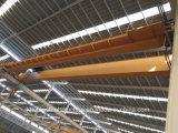 전기 호이스트를 가진 유럽 브리지 기중기 두 배 대들보 천장 기중기