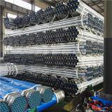 BS1387 tubo de acero galvanizado sumergido caliente de la irrigación del grado B