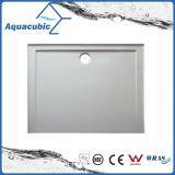 Санитарное основание ливня ванной комнаты квадрата 90X90 SMC высокого качества изделий с решеткой (ASMC9090-3)
