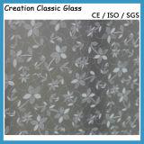 Vidro Gravado Cetim de 4-12mm com CE & ISO9001