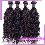 Do cabelo brasileiro de trama do Virgin do cabelo humano de Remy onda natural