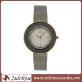 熱いSell CharmおよびLadiesのためのThin Stainless Steel Watch