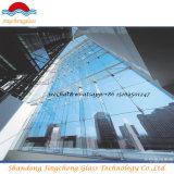 Vidrio/laqueado del tragaluz/vidrio del vidrio/edificio de la lumbrera/vidrio reflexivo/bajo de E