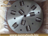 300mm 6 Rodillos Diamond Bush Hammer Plate
