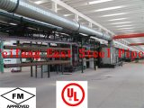 Pipe en acier peinte rouge d'incendie d'arroseuse de FM/UL ASTM A795