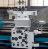 Máquina de giro horizontal resistente do torno da precisão C61500 universal