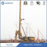 TR400D - profondeur Drilling de 105m pour des piles de base sur des hards rock