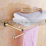 Goldene Badezimmer-Zubehör