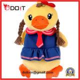 Animais enchidos enchidos do brinquedo do pato do menino pato amarelo