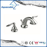 3つの穴の洗面器のコック8インチの真鍮の立水栓(AF0021-6)