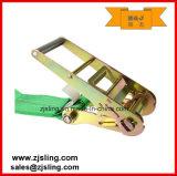 """Extensiones / Cadena de carga de trinquete Correa / W Amarre de 4 """"x 27"""" Verde"""