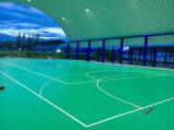 Напольный настил PVC/пластичный для Badminton, баскетбола, отслеживая спортивную площадку