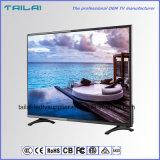 3840X2160 faible puissance large d'intense luminosité d'angle de visualisation de Dled 4K TV 40 «