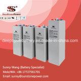 Tiefes Röhrengel-Solarbatterie der Schleife nachladbares Opzv Batterie-2V 800ah