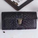 女性Al333のための標準的な様式の本革のクラッチの財布のワニパターンハンドバッグの札入れ