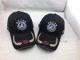 Gorra de béisbol de encargo del indicador del ejército con el borde del bordado para Militray