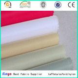 Tela 100% branca impermeável de matéria têxtil 600*500d 82t do poliéster para o guarda-chuva ao ar livre