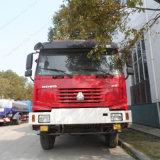 Sinotruk 4X2 Feuerbekämpfung-LKWas mit 8, 000 Liter Wasser-Becken-