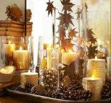 Vaso acrílico da decoração Home, vaso de cristal