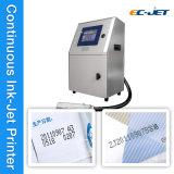 Código de barras que marca la impresora de inyección de tinta continua para el alimento (EC-JET 1000)