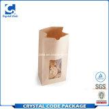 Zurückführbares Firmenzeichen gedruckter wasserdichter verpackender Papierbeutel