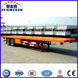 Китайские планшетные Semi тележки трейлера, плоский контейнер следа, сваривая трейлеры для сбывания