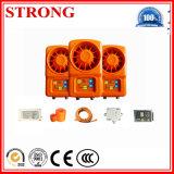 Interphone d'interphone de module de transmission d'élévateur de construction
