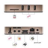 Le meilleur PC de vente de l'Internet TV de l'androïde 6.0 Rk3229 3D 4K IPTV Ott de l'or A96 mini de boîtier décodeur intelligent de cadre