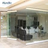Porta deDobramento de vidro moderna de Frameless para a casa