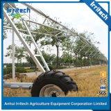 Sistema linear de la máquina de la irrigación del movimiento de Enigine del valle de la fricción de la rueda diesel del manguito dos en venta