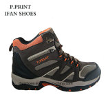 Качество ботинок Китая дешевое взбираясь хорошее Hiking TPR Outsole