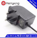 OEM En60950 de EU het UK ons AC gelijkstroom van de Stop van Au Adapter 12V 2A