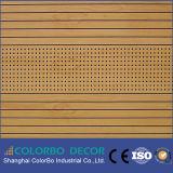 Панель пожаробезопасных материалов деревянная акустическая