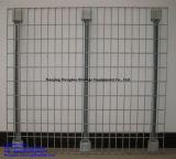 Piattaforma resistente della maglia del filo di acciaio per la cremagliera del pallet del magazzino