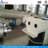 آلة PVC الكابلات الكهربائية قناة مزدوجة أنابيب خط الانتاج / الطارد