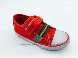La nueva lona superior inferior de la manera embroma los zapatos (ET-LH160266K)